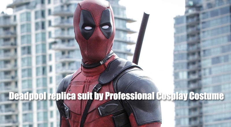 Deadpool replica suit by Professional Cosplay Costume