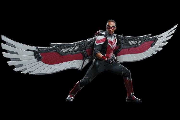 the falcon classic costume